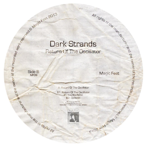 Dark Strands/RETURN OF THE OSC 12""