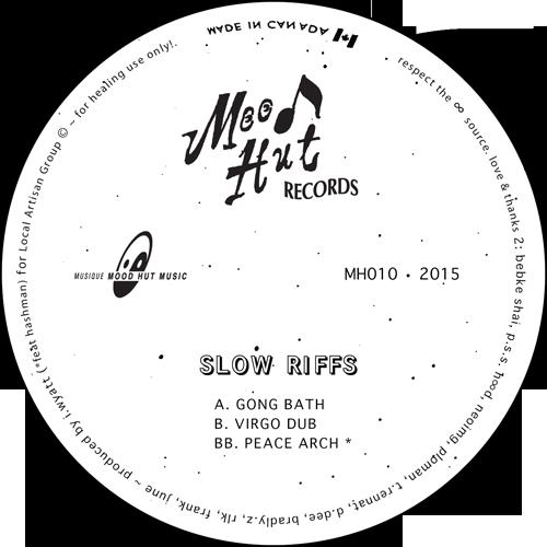 """Slow Riffs/GONG BATH 12"""""""