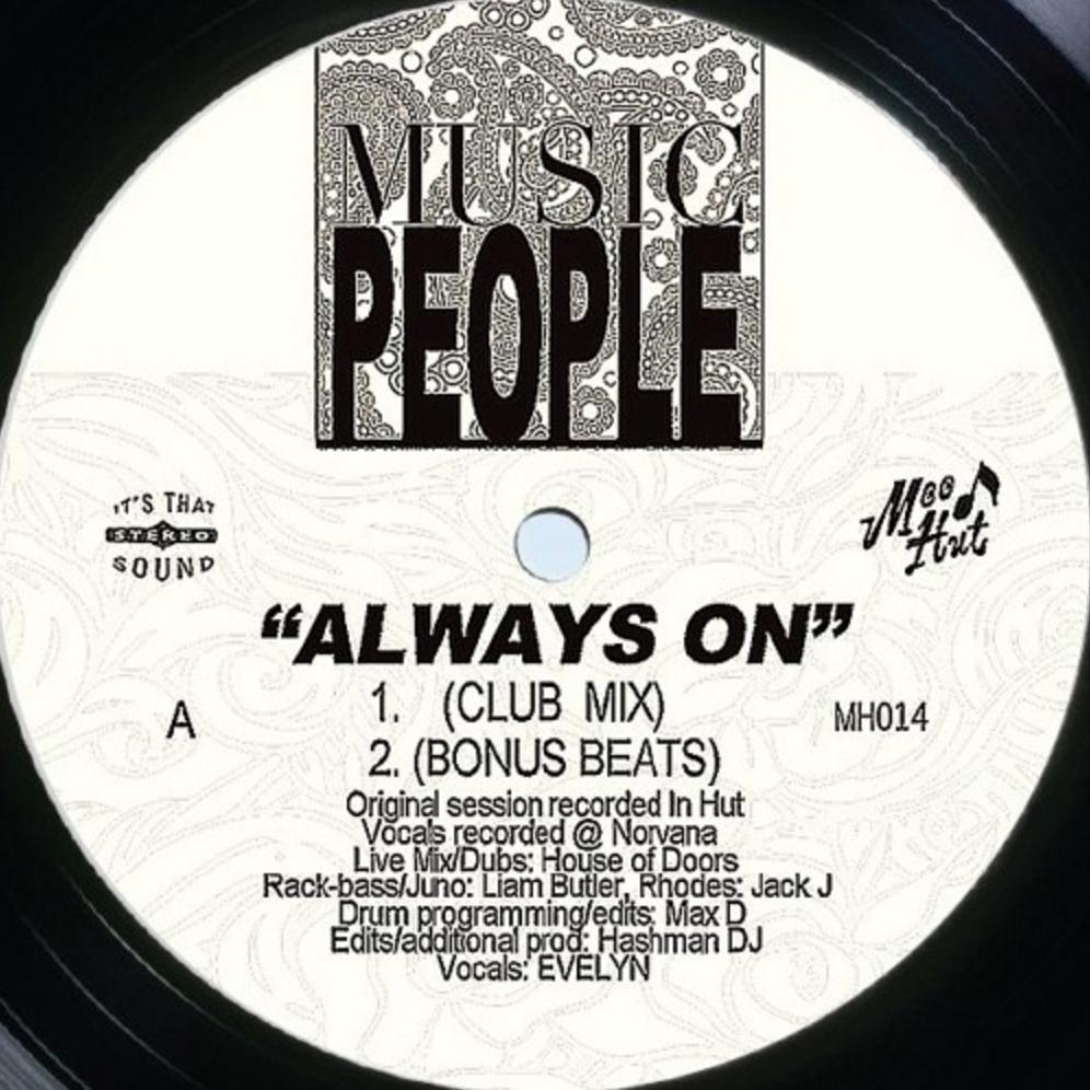 Music People/ALWAYS ON 12""