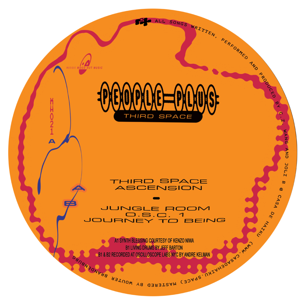 People Plus/THIRD SPACE 12""