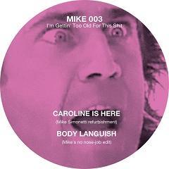 "Mike Simonetti/I'M GETTING TOO OLD...12"""