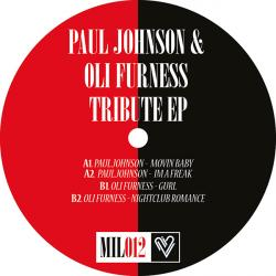 Paul Johnson & Oli Furness/TRIBUTE 12""