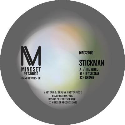 "Stickman/THE VERGE 12"""