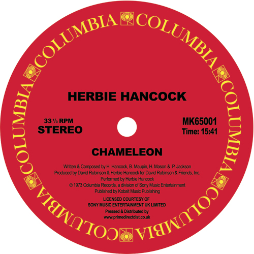 "Herbie Hancock/CHAMELEON 12"""