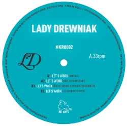 Lady Drewniak/LET'S WORK REMIXES EP 12""