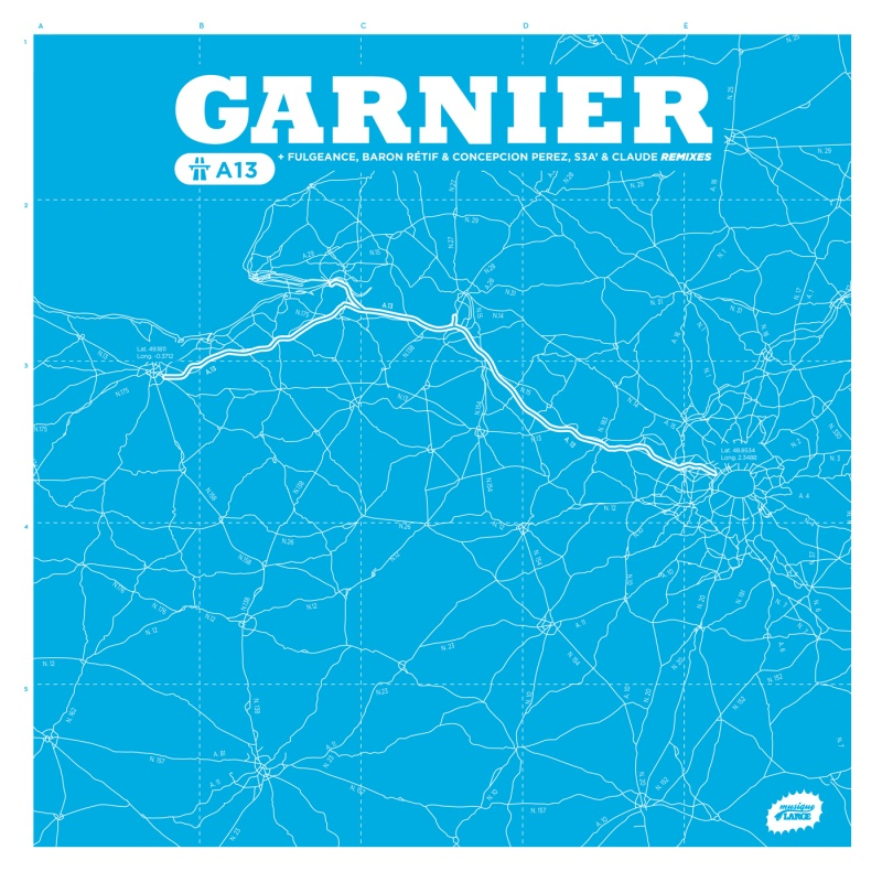 Laurent Garnier/A13 MINI-LP