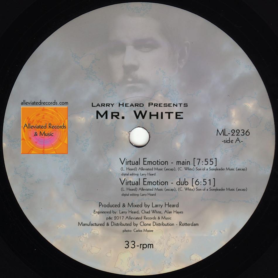 """Mr. White/VIRTUAL EMOTION 12"""""""