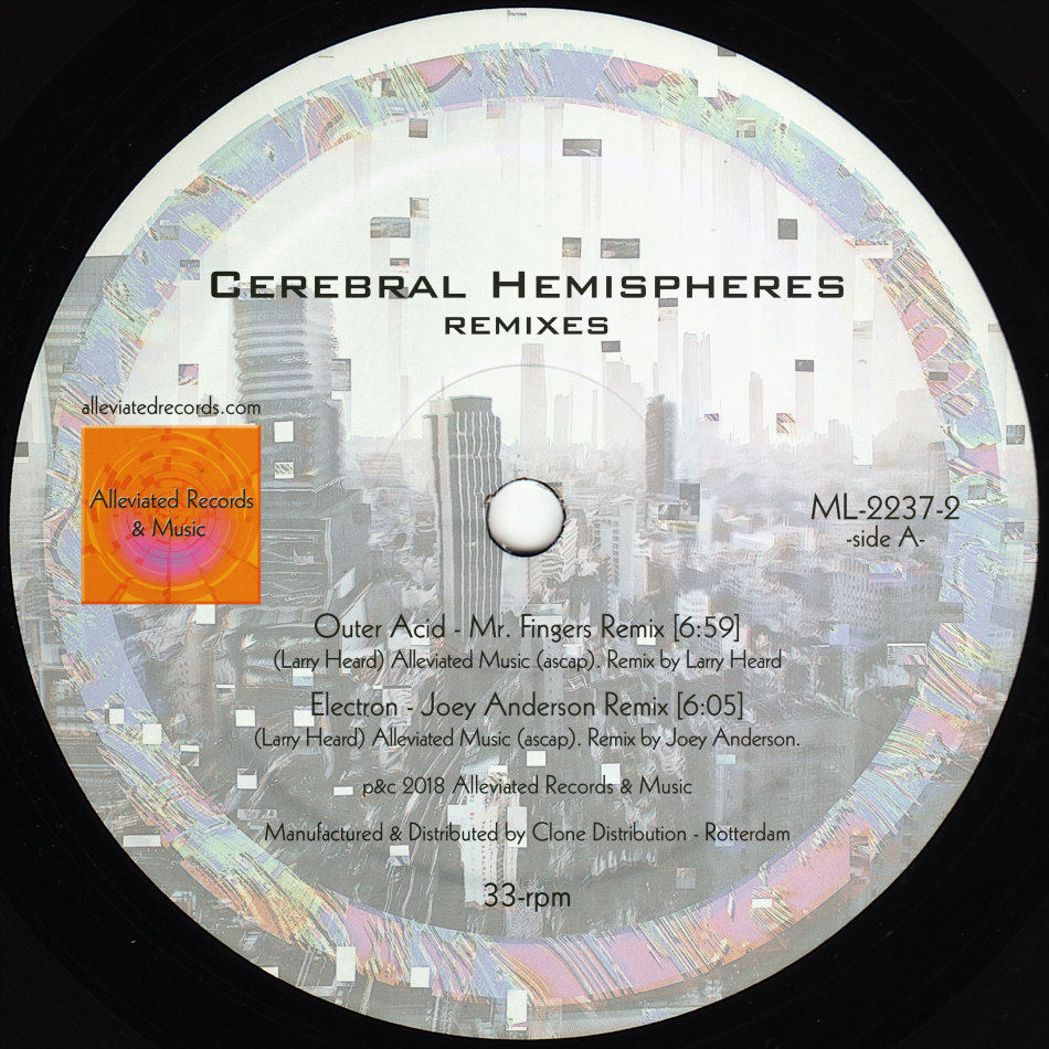 Mr. Fingers/CEREBRAL HEMISPHERES RMX 12""