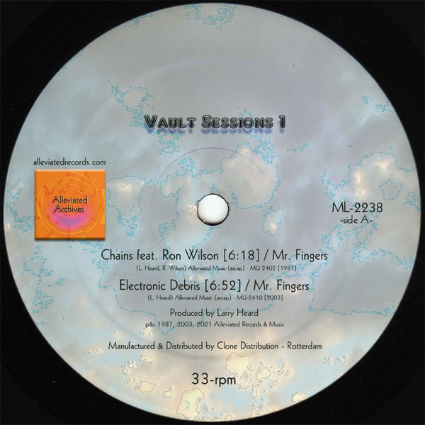 Mr. Fingers/VAULT SESSIONS 1 EP 12""