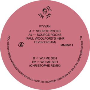 Vyvyan/SOURCE ROCKS 12""