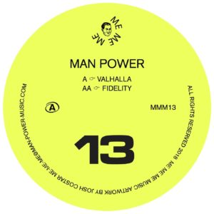 Man Power/VALHALLA 12""