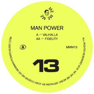 """Man Power/VALHALLA 12"""""""