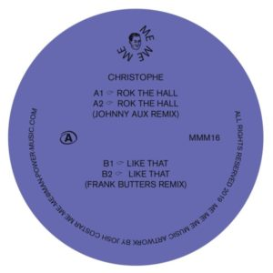 Christophe/ROK THE HALL 12""