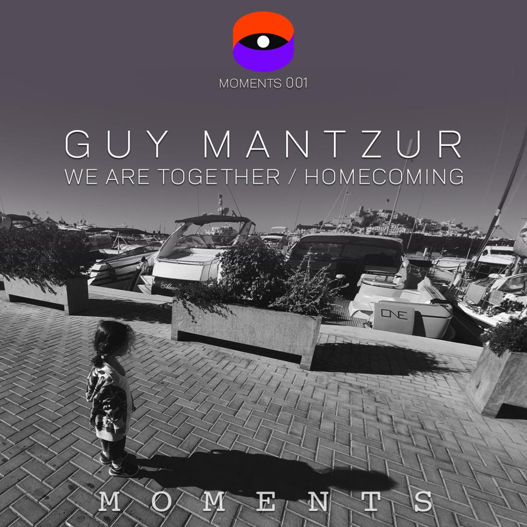 """Guy Mantzur/WE ARE TOGETHER 12"""""""