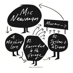 "Mic Newman/MACHINE LOVE EP 12"""