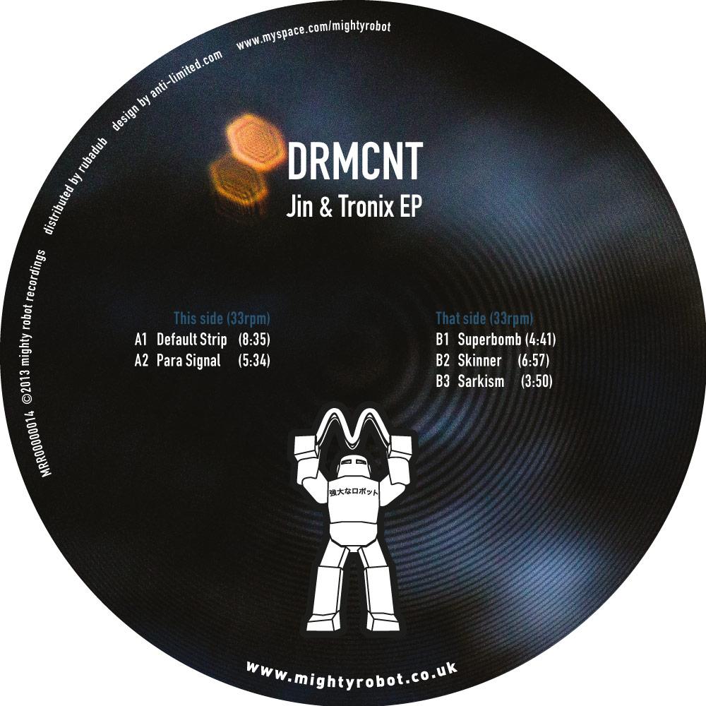 """DRMCNT/JIN & TRONIX EP 12"""""""