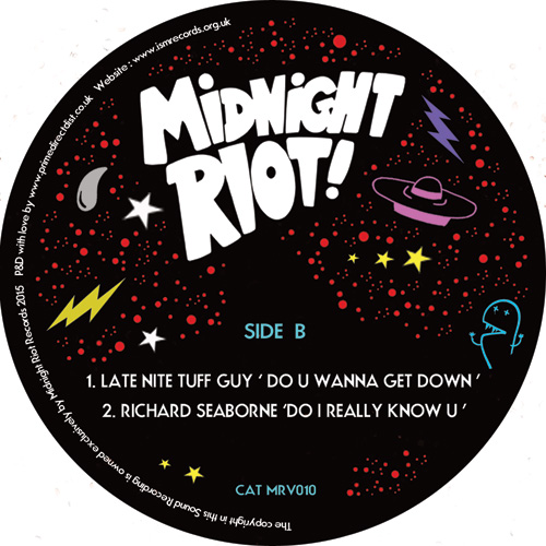 Various/MIDNIGHT RIOT VOL. 8 SAMPLER 12""