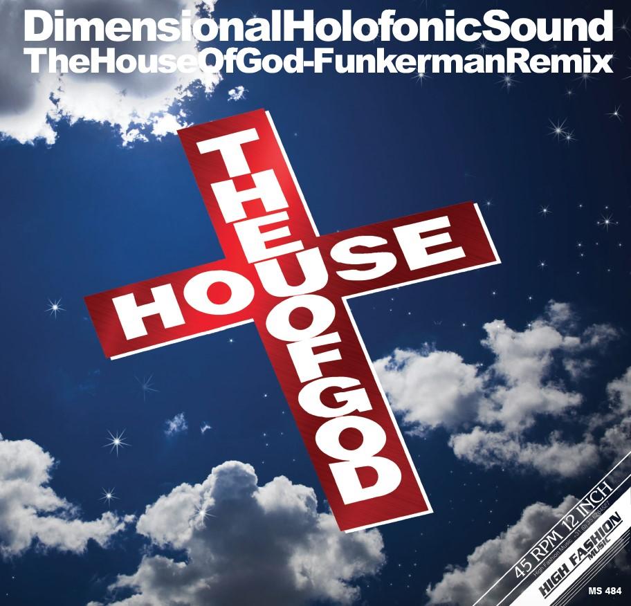 """DHS/HOUSE OF GOD (FUNKERMAN REMIX) 12"""""""