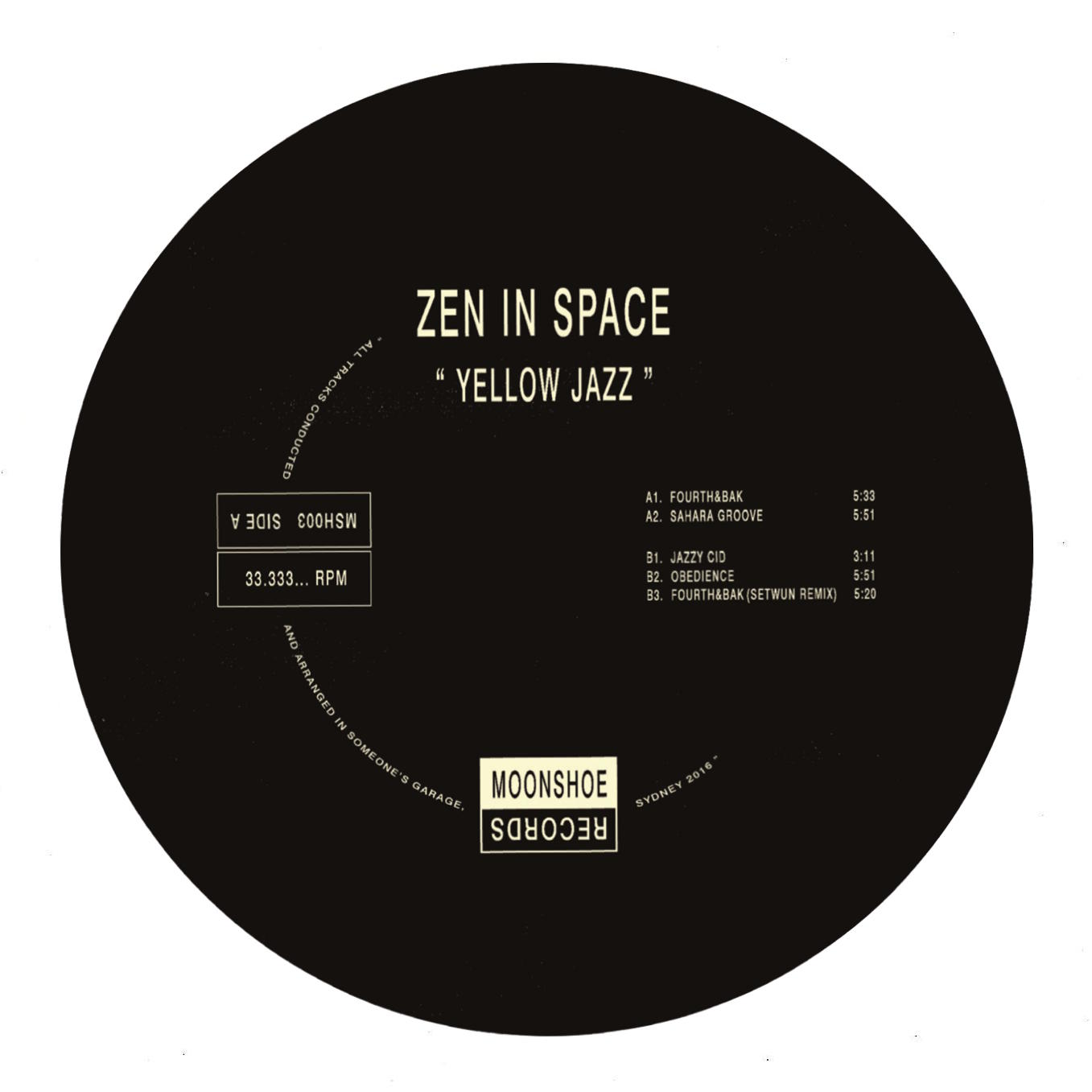 Zen In Space/YELLOW JAZZ EP 12""