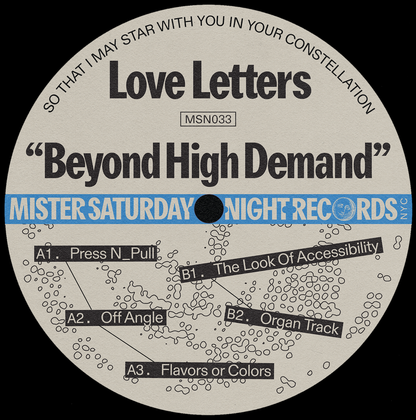 Love Letters/BEYOND HIGH DEMAND EP 12""
