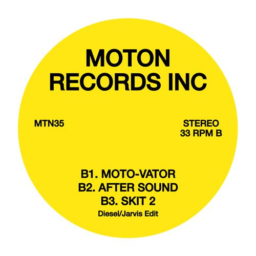 """Moton/DIE DOMINAS (CLEAR VINYL) 12"""""""