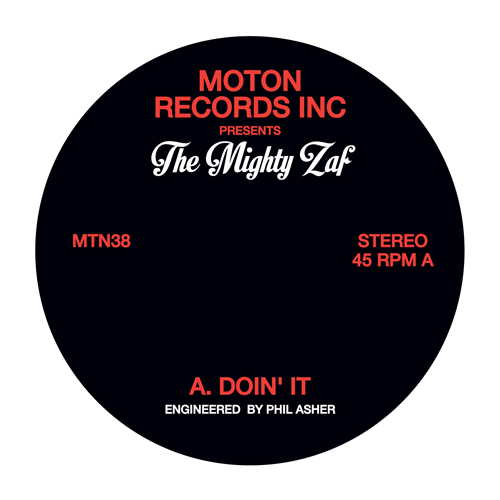 Mighty Zaf/DOIN' IT 12""