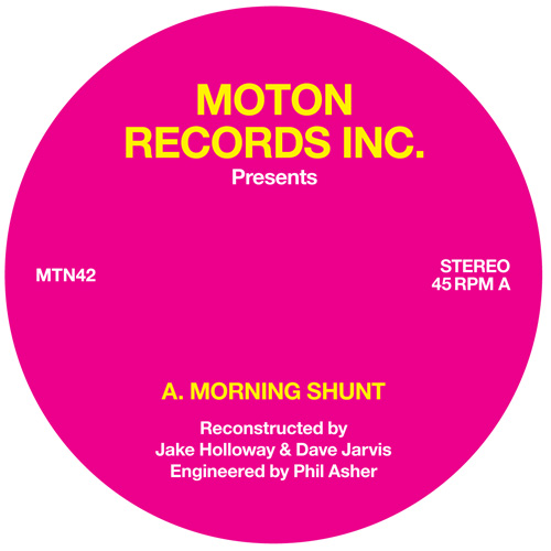 Moton/MORNING SHUNT 12""