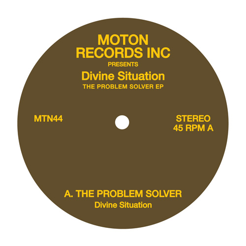 Divine Situation/THE PROBLEM SOLVER 12""