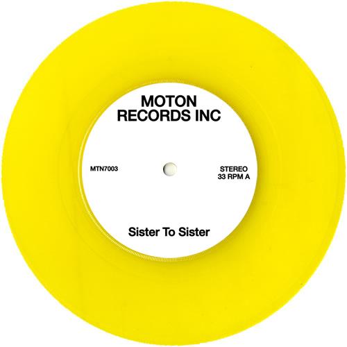 "Moton/SISTER TO SISTER 7"""