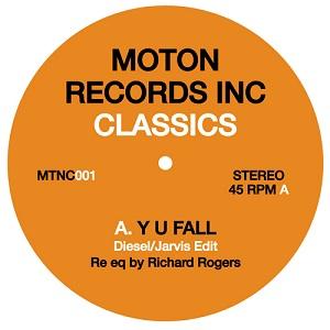 "Moton/CLASSICS VOL 1-Y U FALL & DOG 12"""