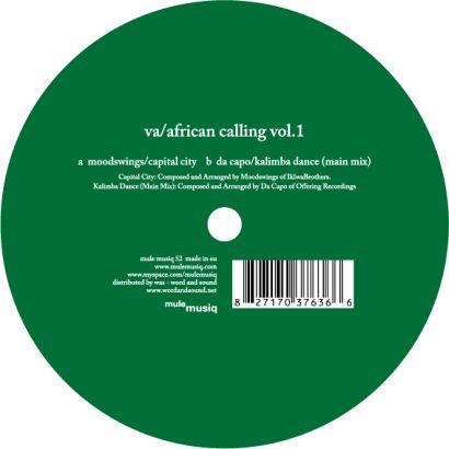"Various/AFRICAN CALLING VOL.1 12"""