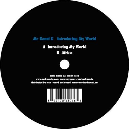 Mr. Raoul K/INTRODUCING MY WORLD 12""