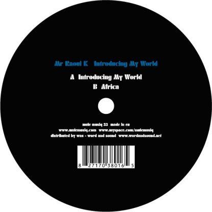 "Mr. Raoul K/INTRODUCING MY WORLD 12"""