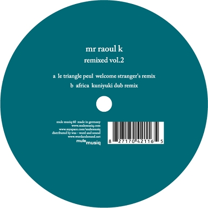 Mr. Raoul K/REMIXED VOL.2 12""