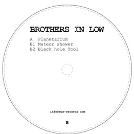 Brothers In Low/PLANETARIUM 12""
