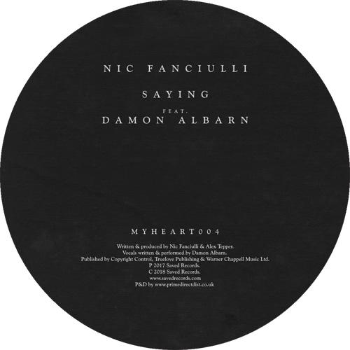 """Nic Fanciulli ft. Damon Albarn/SAYING 7"""""""