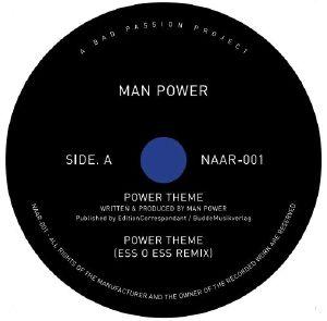 "Man Power/POWER THEME 12"""