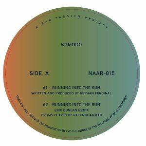 Komodo/RUNNING INTO THE SUN 12""