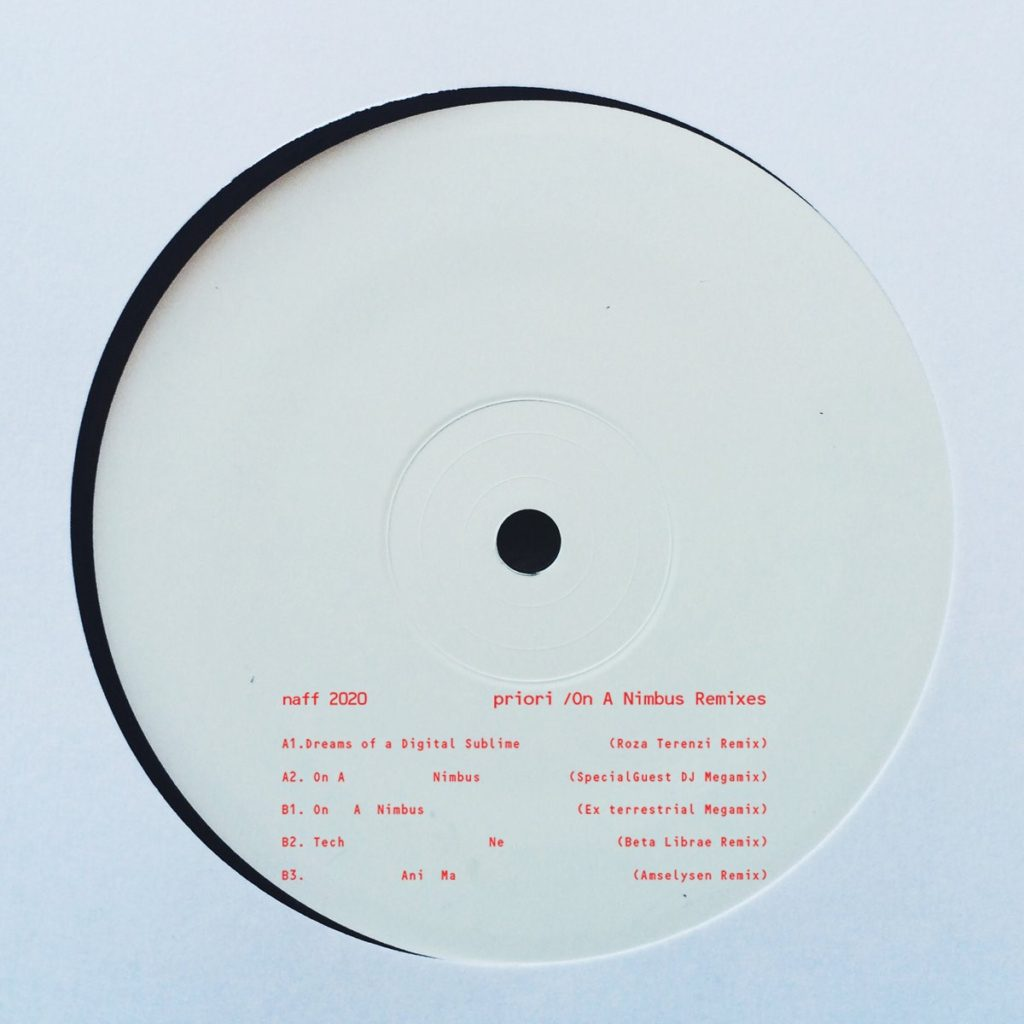 Priori/ON A NIMBUS REMIXES 12""