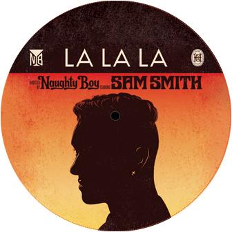 """Naughty Boy & Sam Smith/LA LA LA 12"""""""