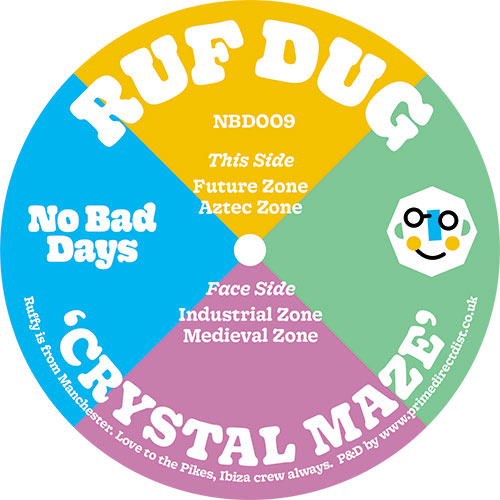 "Ruf Dug/CRYSTAL MAZE 12"""