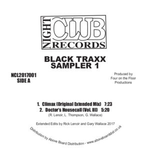 Black Traxx/SAMPLER 1 12""