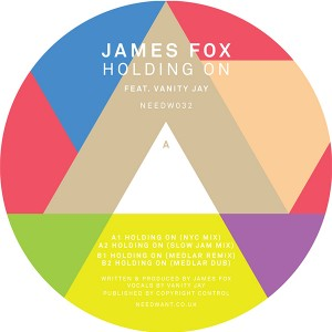 James Fox/HOLDING ON 12""