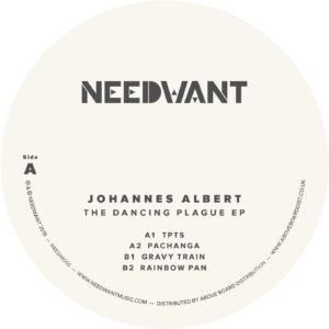Johannes Albert/THE DANCING PLAGUE 12""