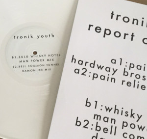 Tronik Youth/REPORT CARD EP 12""