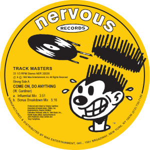 Track Masters/COME ON, DO ANYTHING 12""