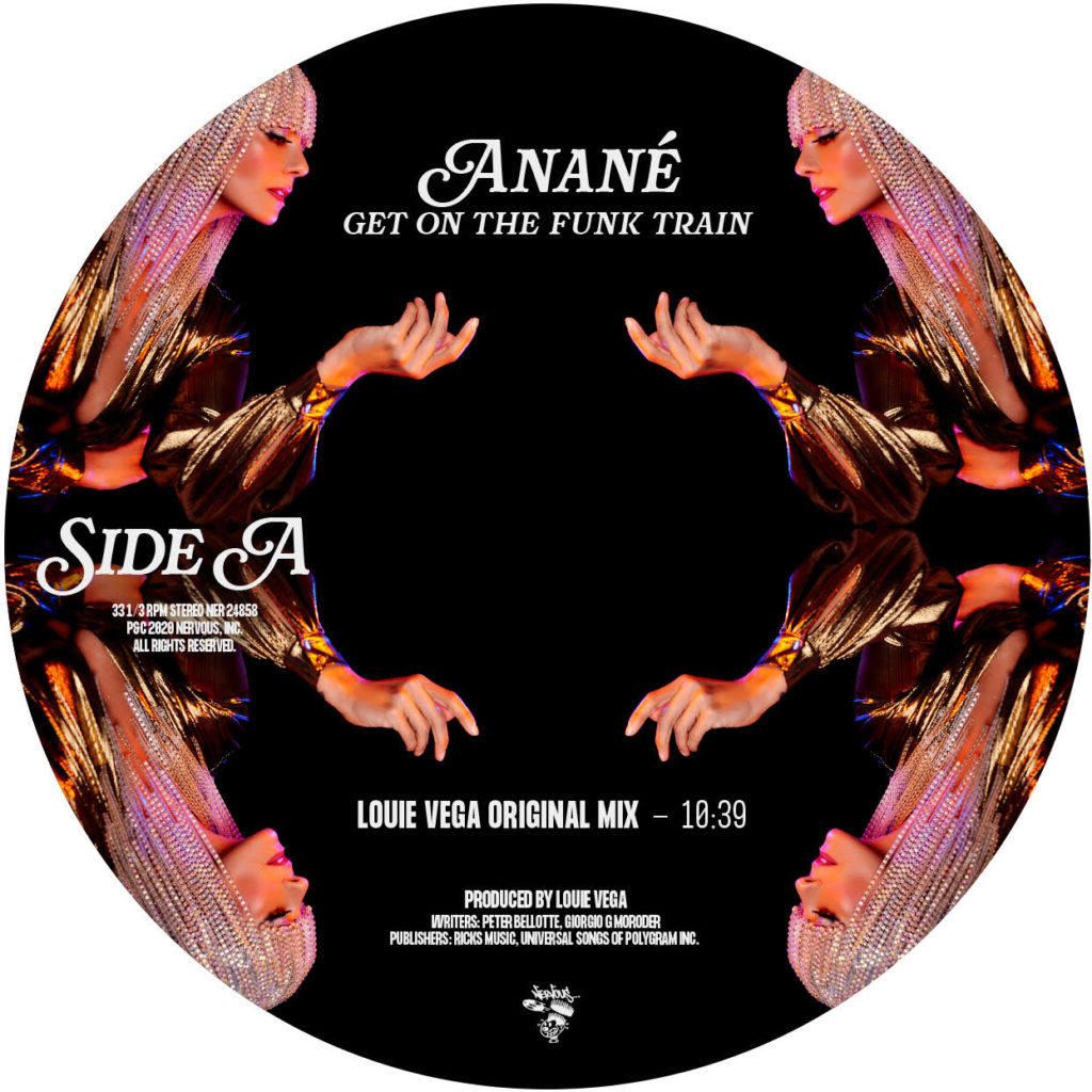 Anane/GET ON THE FUNK TRAIN 12""