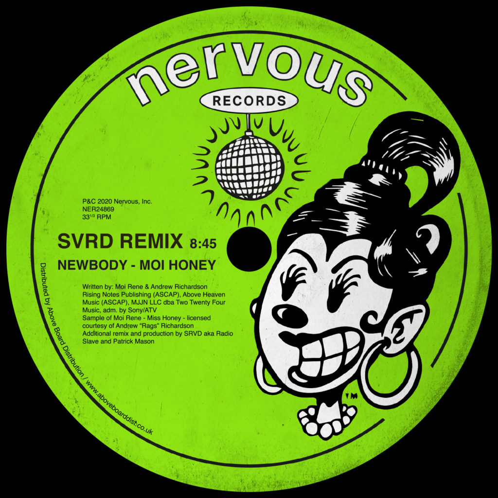 Newbody/MOI HONEY (SRVD REMIX) 12""