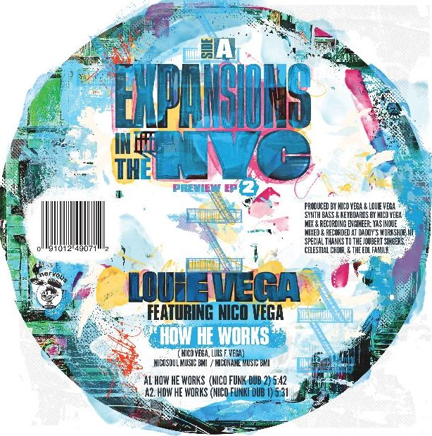 """Louie Vega/EXPANSIONS.. PREVIEW EP 2 12"""""""