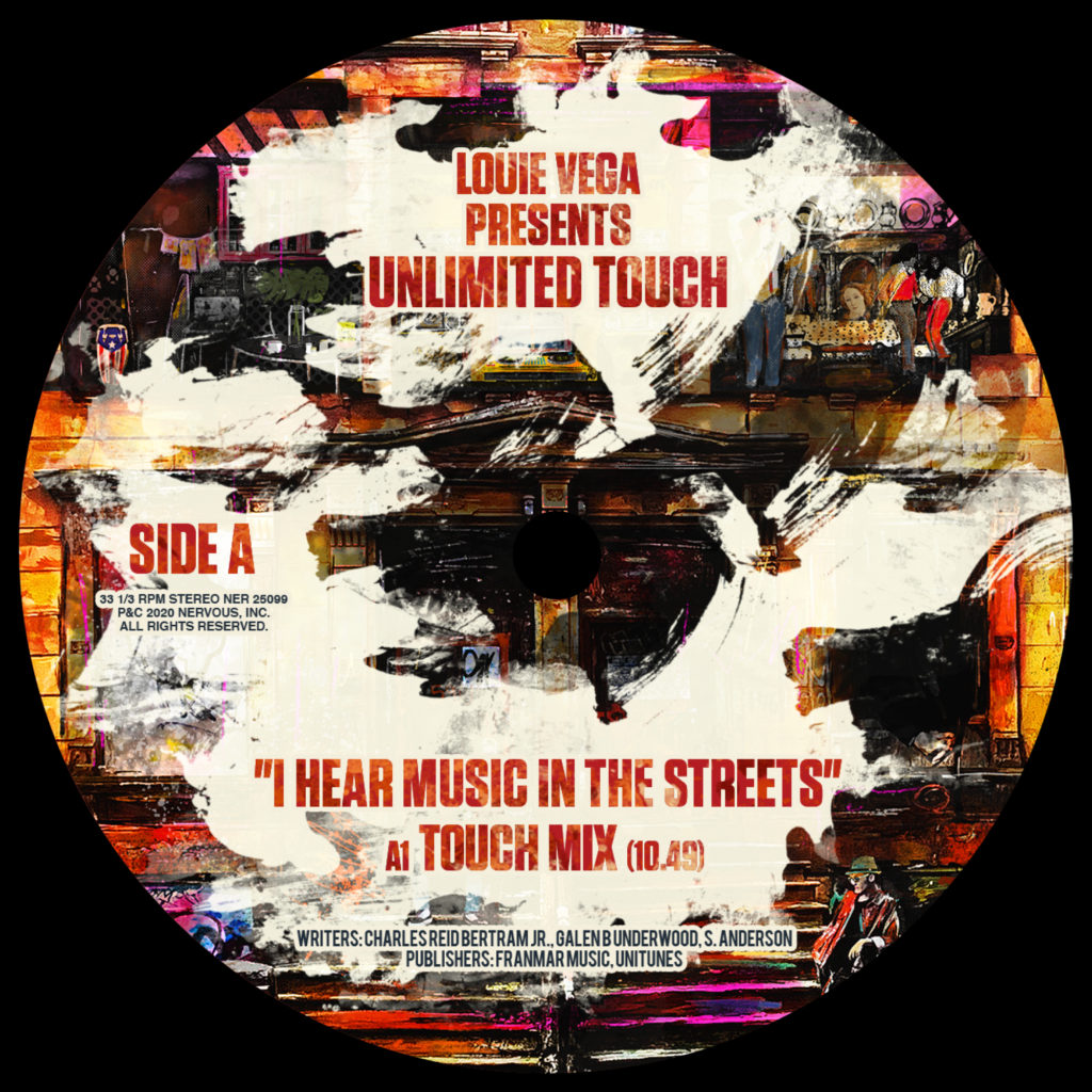"""Unlimited Touch/I HEAR MUSIC IN... 12"""""""